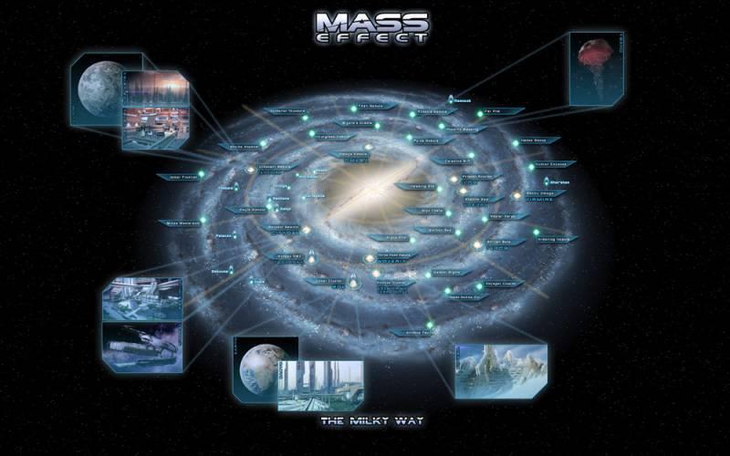 Mass Effect — Планеты Млечного Пути