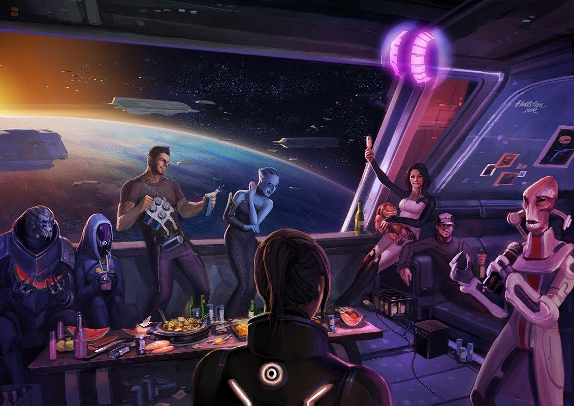 Mass Effect 3 #8212; Happy Ending (альтернативная концовка) 23