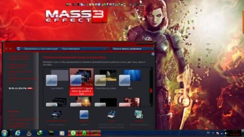 Тема Mass Effect Для Windows 7