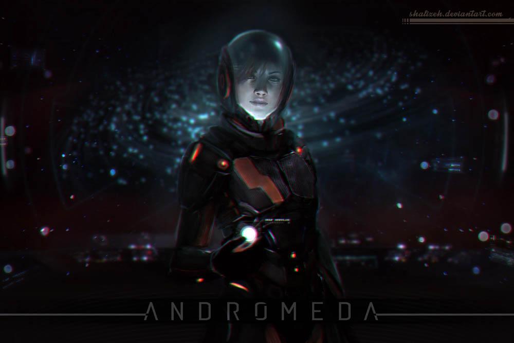 Женский персонаж Mass Effect Andromeda