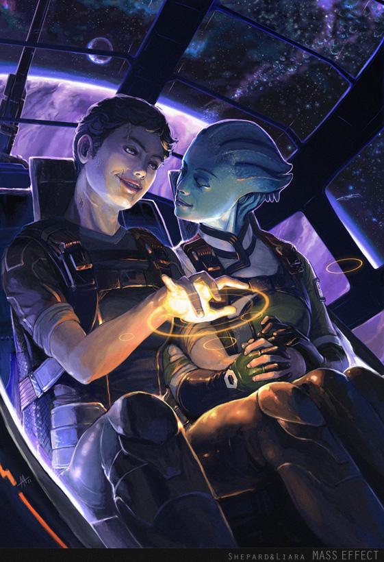 Масс Эффект Mass Effect фэндомы арт красивые картинки игры Гаррус Тали