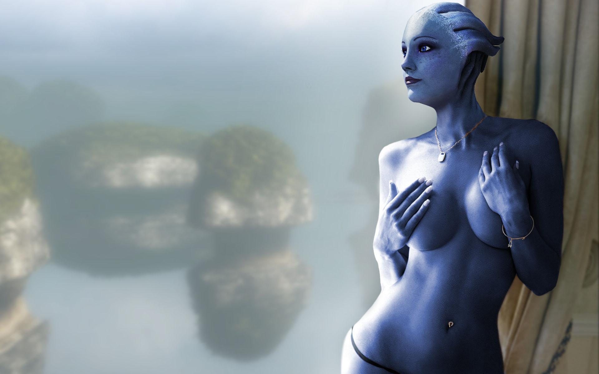 Liara erotic art fucking gallery