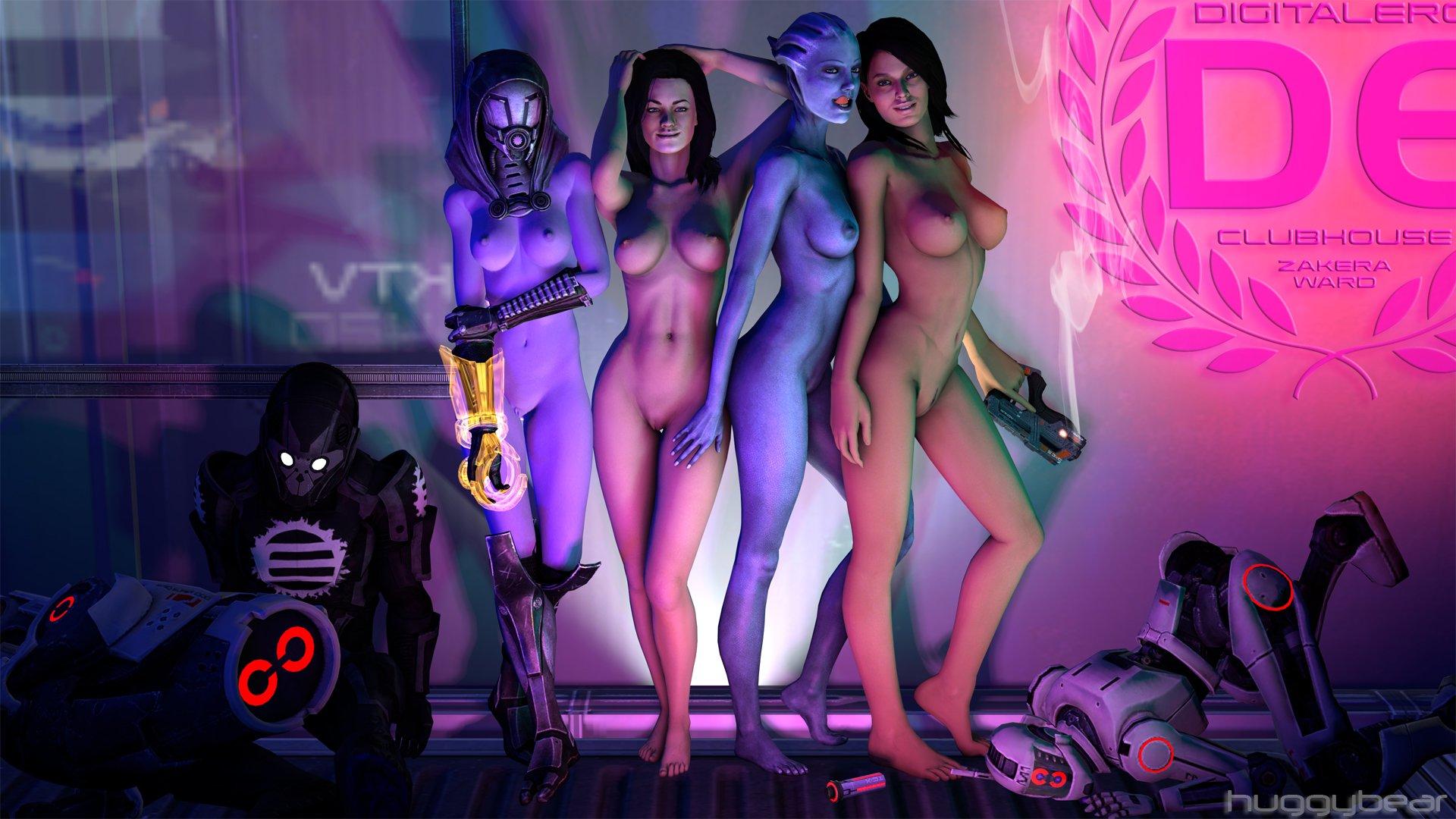 Sexy nude liara cosplay erotic scenes