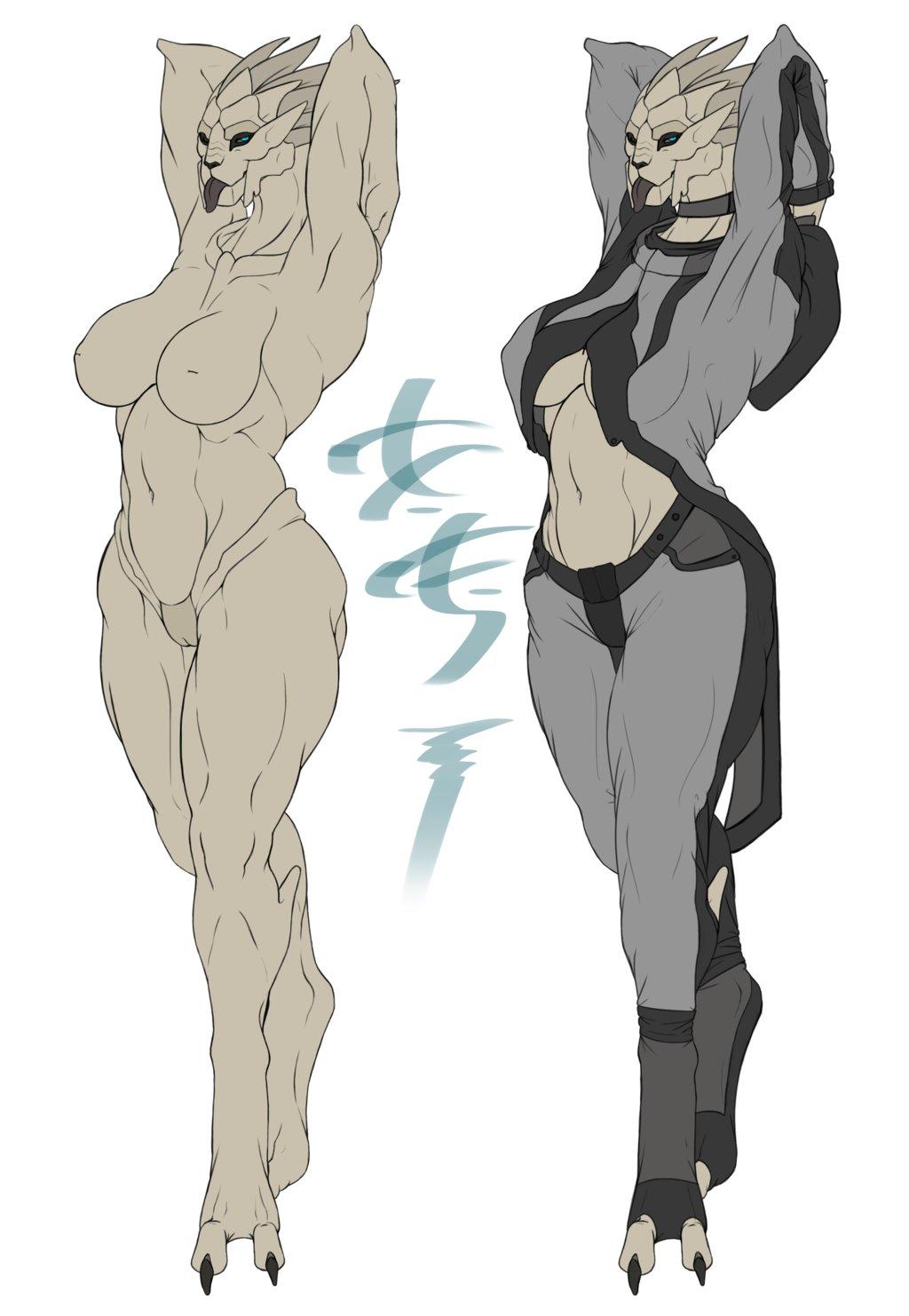 Nude female shappard mass effect hentai girlfriend