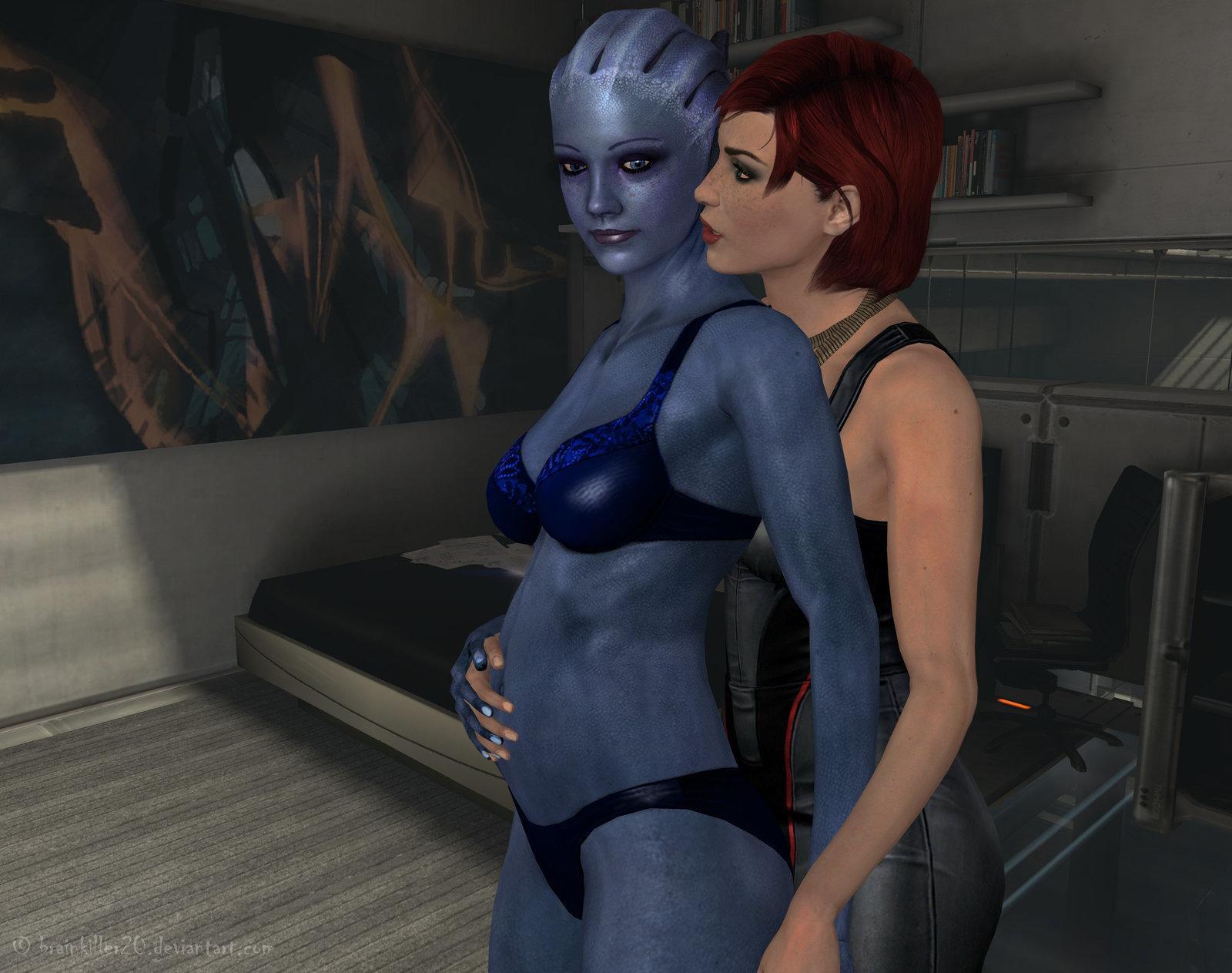 Масс эффект беременная