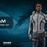 Сара Райдер, Character Kit - Концепт-арт Mass Effect
