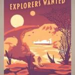 Концепт-арт Постер Explorers Wanted: Wonder
