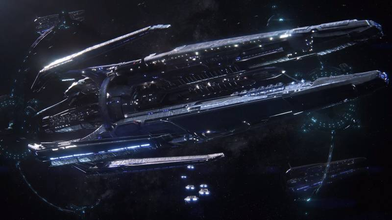 Корабль ковчег Масс Эффект Андромеда