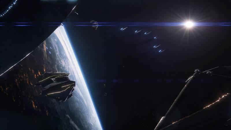 Орбита планеты, шаттлы в Масс Эффект Андромеда