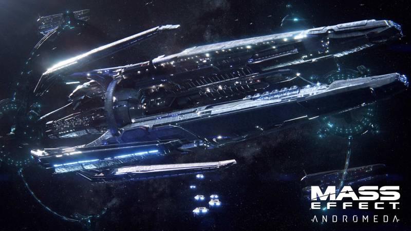 Mass Effect Andromeda корабль Гиперион Hyperion spaceship