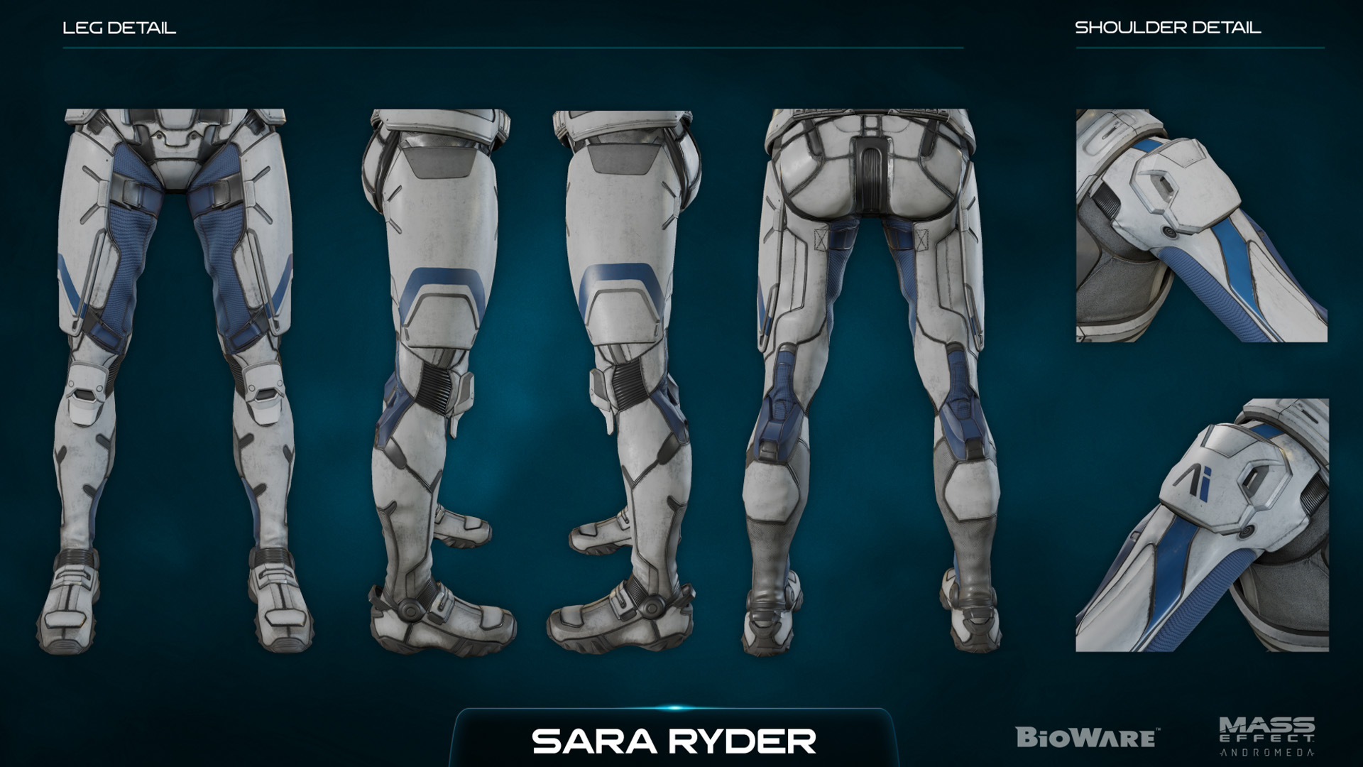 Ветра Никс, Character Kit - Концепт-арт Mass Effect: Andromeda